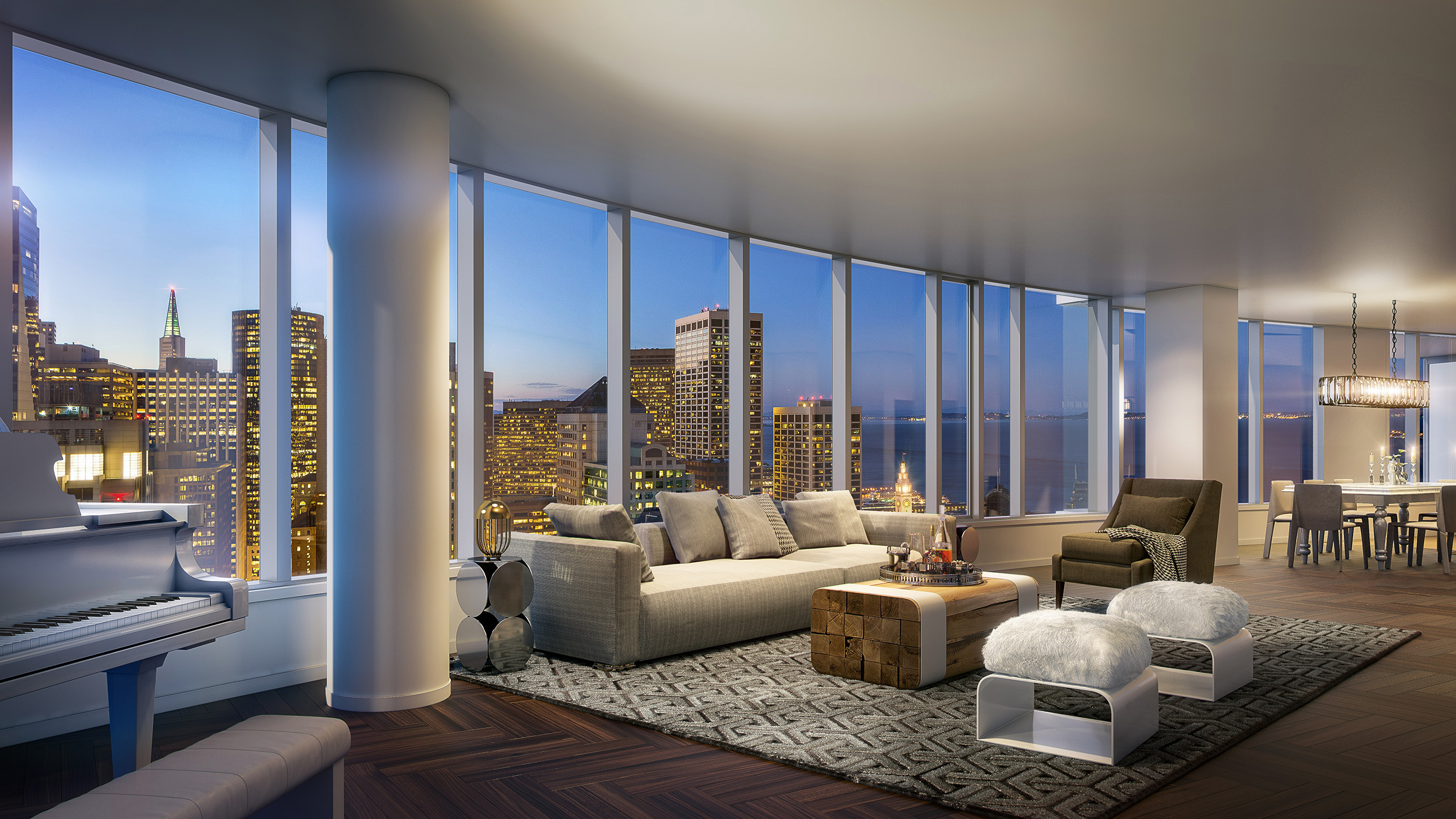 2 Bedroom Suites Chicago San Francisco S Most Expensive Listing 49 Million Lumina